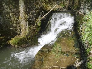 Photo du Seuil de l'ancien moulin de Foucaucourt-sur-Thabas
