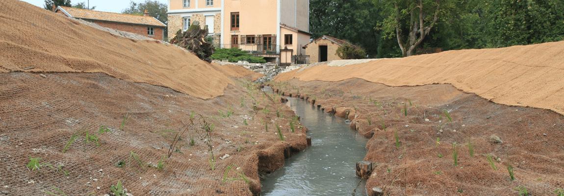Rétablissement de la continuité écologique de la Bionne